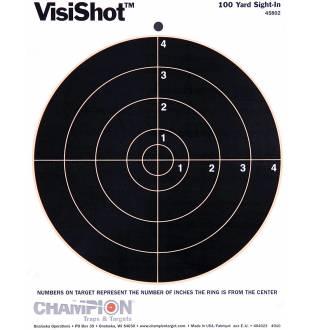 """Champion Visishot Circle 8"""" Target 10 Pack, Card"""