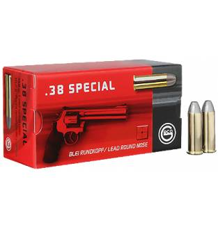 Geco .38 Special LRN Revolver 158Gr (Box of 50)