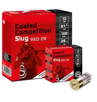GECO Competition Slug 100 Comp Pack 28 Gram (Teflon Coated) RED