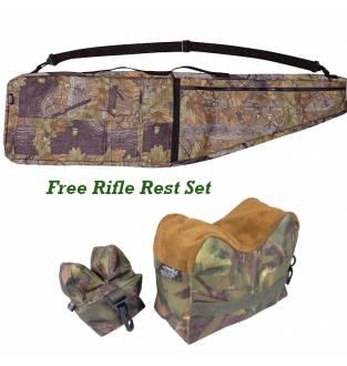 Jack Pyke English Oak Rifle Bag with FREE English Woodland Rifle Rest Set!