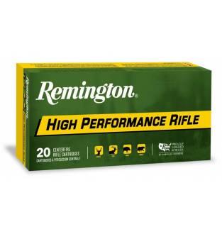Remington High Performance Rifle PSP 22-250 Remington 55GR (Box of 20)