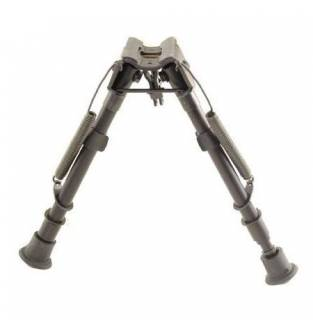 Harris 1A2 Series 9 to 13 Inch Bipod Notched Leg Fixed Base