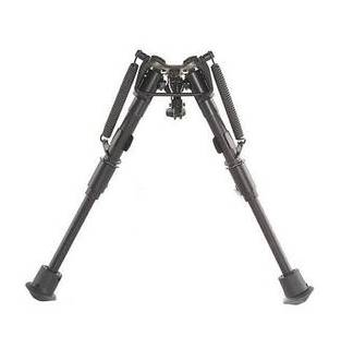 Harris 1A2 Series 6 to 9 Inch Bipod Smooth Leg Fixed Base