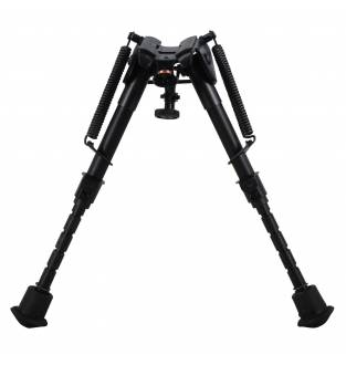 Harris 1A2 Series 6 to 9 Inch Bipod Notched Leg Fixed Base