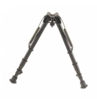 Harris 1A2 Series 12 to 25 Inch Bipod Smooth Leg Fixed Base