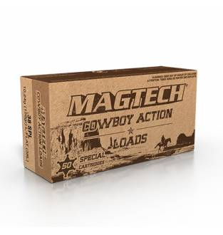Magtech CBC 38 Special LFN Cowboy 158GR Cartridge (Box of 50)