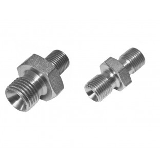 Best Fittings Double Male Coupling 1/8 to 1/4 BSP