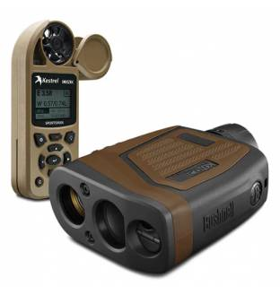 Bushnell Elite Tactical 7x26mm 1 Mile Laser Rangefinder Kestrel Combo