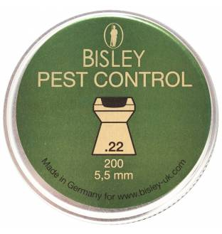 Bisley Pest Control .22 Cal Tin of 200