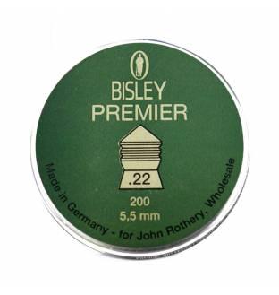 Bisley Premier .22 Cal Pellets Tin of 200