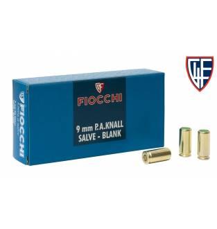 Fiocchi 9mm P.A.K Semi Auto Blanks (Box of 50)