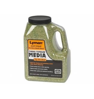 Lyman Turbo Case Cleaning Media 2.25lb (Treated Corn Cob)