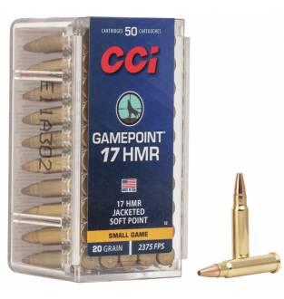 CCI .17 HMR Game Point 20gr (Box of 50)