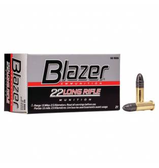 CCI .22 LR HV Blazer 40gr Solid  (Box of 50)