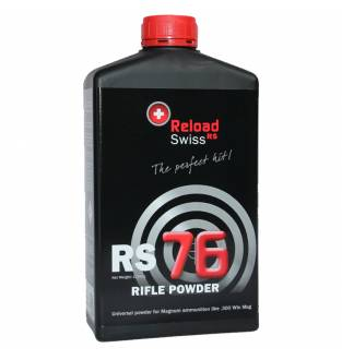 Reload Swiss RS RS76 Rifle High Energy (1kg Bottle)
