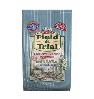 Skinners Field & Trial Turkey and Rice 2.5kg Bag
