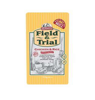 Skinners Field & Trial Chicken and Rice 15kg Bag