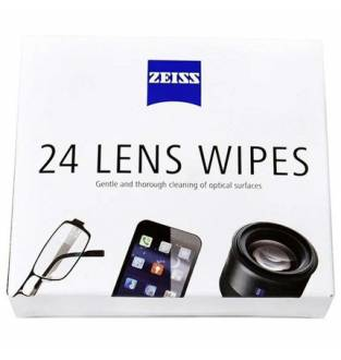 Zeiss Lens Wipes (24 Pack)