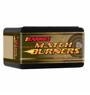 Barnes  Match Burner Boat Tail 30 Cal 155gr (Box of  100)