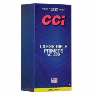 CCI 200 Standard Large Rifle Primers (Box of 1000)
