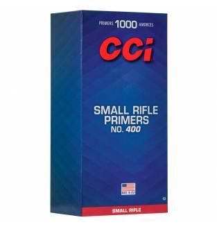 CCI 400 Standard Small Rifle Primer (Box of 1000)