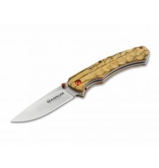 Boker Magnum Red Pupil Utility Pocket Knife