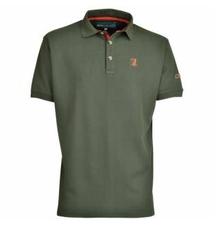 Percussion Embroidered Hunting Polo T-Shirt